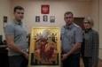 Члены Общественной наблюдательной комиссии города Москвы передали в дар следственному изолятору № 1 икону Пресвятой Богородицы Всецарицы Афонской