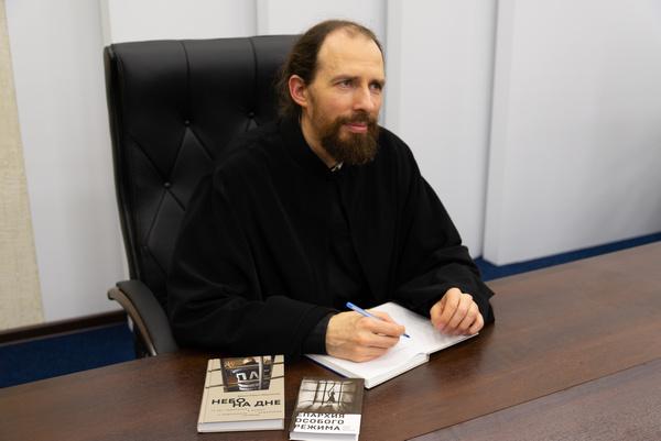 Помощник начальника УФСИН России по г. Москве по организации работы с верующими встретился с несовершеннолетними подозреваемыми и обвиняемыми