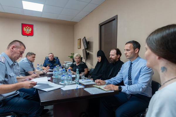 Уполномоченный по правам человека в городе Москве посетила следственный изолятор № 6