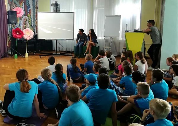 Сотрудники УИИ УФСИН России по г. Москве организовали воспитательное мероприятие для детей