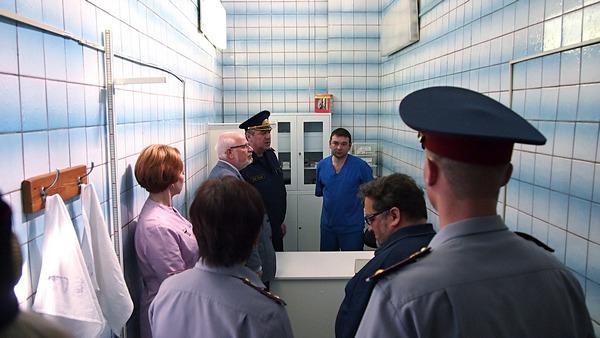 Председатель СПЧ Михаил Федотов посетил столичный следственный изолятор № 6