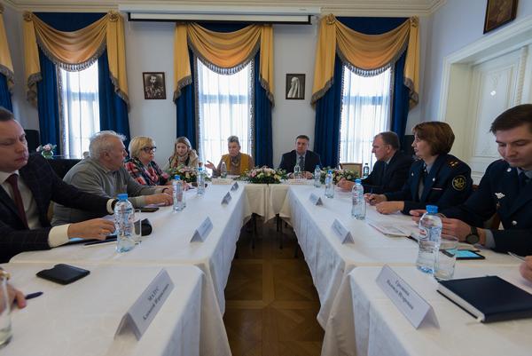 Состоялось очередное заседание Общественного совета при УФСИН России по г. Москве