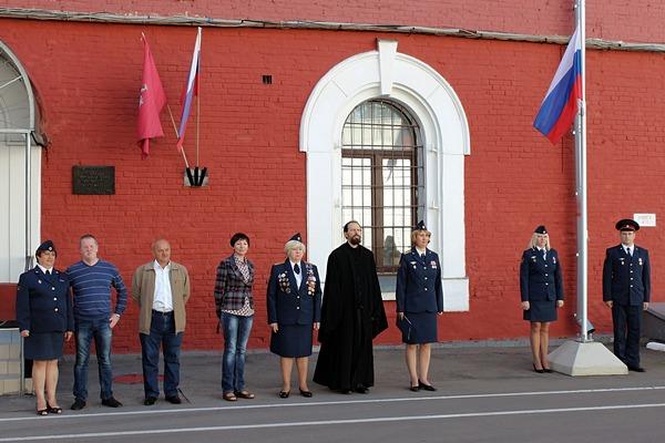 В день Государственного флага Российской Федерации сотрудники УФСИН России по г. Москве приняли Присягу