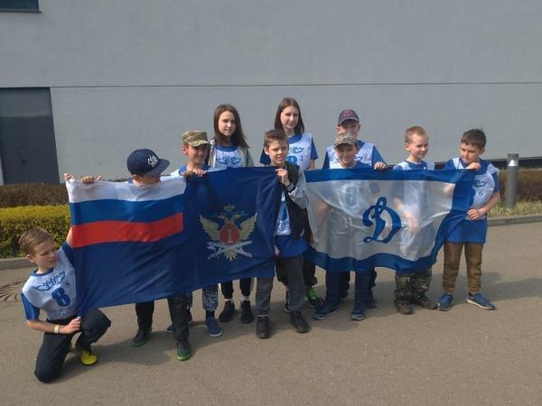 Дети сотрудников УФСИН России по г. Москве приняли участие в спортивном празднике
