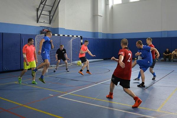 В спортивном зале Дворца спорта «Динамо» прошли игры по мини футболу