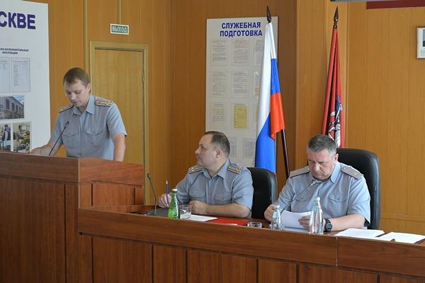 В УФСИН России по г. Москве подвели итоги служебной деятельности за первое полугодие