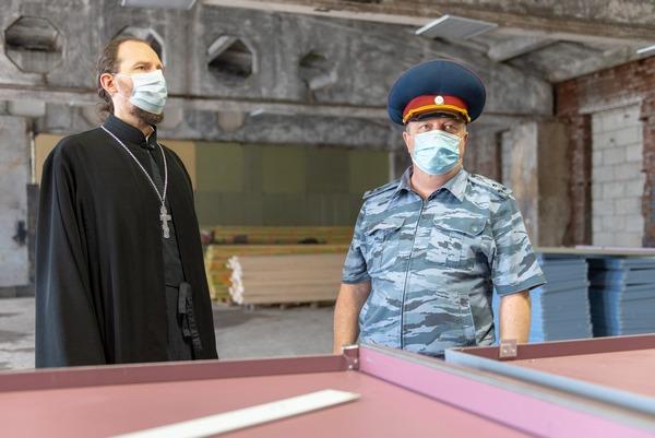 Помощник начальника управления по организации работы с верующими посетил КП-2 УФСИН России по г. Москве