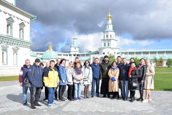 Сотрудники УФСИН России по г. Москве и члены их семей посетили Ново-Иерусалимский монастырь