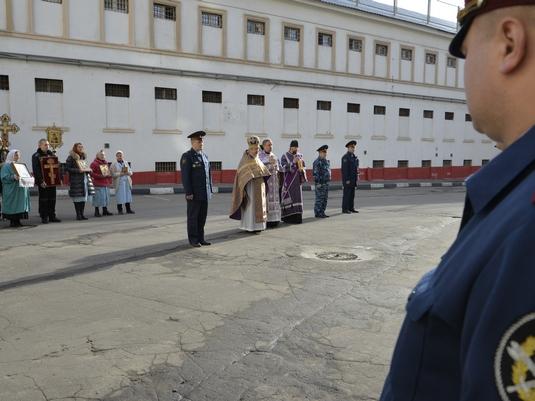 В Крестовоздвиженском храме СИЗО-1 города Москвы состоялся престольный праздник