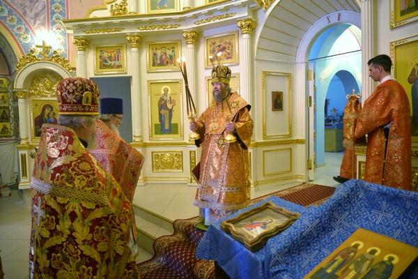 В Покровском храме СИЗО-2 УФСИН России по г. Москве состоялось торжественное богослужение