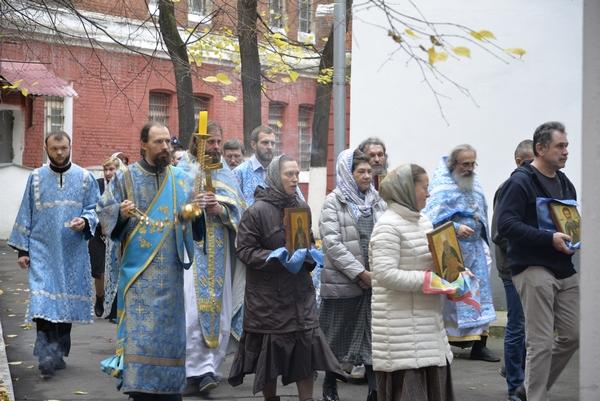 В Покровском храме СИЗО-2 города Москвы состоялся престольный праздник