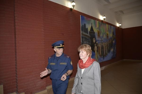 Председатель комиссии по безопасности и взаимодействию с ОНК Общественной палаты Российской Федерации Мария Каннабих посетила СИЗО- 2 УФСИН России по г. Москве